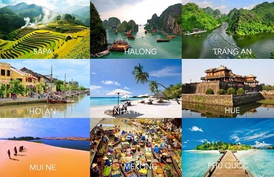 Du lịch là ngành kinh tế mũi nhọn của Việt Nam trong giai đoạn mới